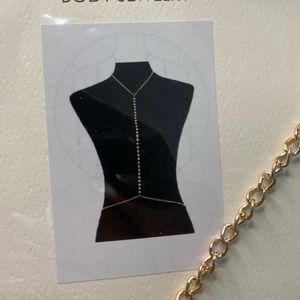 Core Body Jewelry Gold Body Chain - F28 - 2